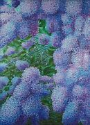 Anastasia Woron Lilacs Original Signed By Author Oil Painting