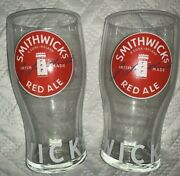 Smithwicks Beer Glasses 2 Imperial Pints 20 Oz New Style Design Brand New