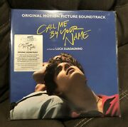 Call Me By Your Name Sealed Original Pressing 2xlp Vinyl Timothee Chalamet