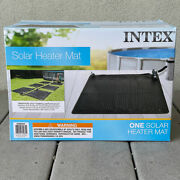 Intex Solar Heater Mat 47 X 47 Above Ground Swimming Pool Up To 8,000 Gallons