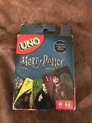 Mattel Uno Harry Potter Card Game 112 Cards Box Open But Cards Still Sealed.