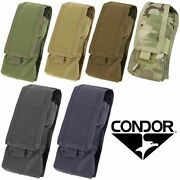 Condor Ma9 Tactical Molle Antenna Radio Walkie Talkie Bungee Flap Pouch Holster