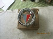 Nos 1964 Plymouth Valiant Diecast Metal Grille Ornament