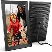 Nixplay 15.6 Inch Smart Digital Picture Frame Share Video Clips And Photos Insta