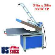 Us-31 X 39 Manual Large Format Heat Press Machine Clamshell Thermo Transfer