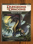 Monster Vault Threats To The Nentir Vale Book Only 2011 Dungeons And Dragions 4e