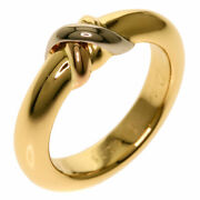 Colors 56 1995 Ring K18 Yellow Gold K18wg K18pg Women And039s Secondhan _7017