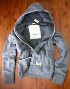 Abercrombie And Fitch Fully Padded Lined Fleece Zip Hoodies Nwt Authentic Items