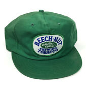 Vintage Beech-nut Winter Green Chewing Tobacco Trucker Hat Made In Usa Rare Q