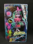 Monster High Electrified Twyla Doll Monstrous Hair Ghouls New 2016 Mattel