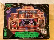 Lemax Spooky Town Shooting Range Lighted Animated Halloween Village As Is Read