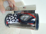 United Airlines Proud To Fly Team Usa Airplane Body Tin - Legacy Ual Collectible