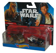 Star Wars Hot Wheels 2014 Chewbacca And Han Solo Auto Spielzeug 2-pack