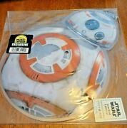 Star Wars New Bb-8 Shaped Record Limited Edition 529 Of 1500 Exclusive Disney