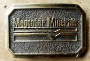 Five 5 1980's Dresser Industries Magcobar Belt Buckles Free Shipping