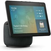 Echo Show 10 3rd Gen Hd Smart Display With Motion And Alexa-charcoal-device