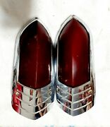 1949 Buick Tail Lights Pair Genuine Guide R-49 Used 19