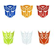 Car Styling 3d Stickers Cool Autobots Logo Transformers Badge Emblem Tail Decal