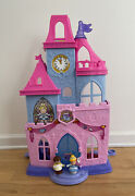 Fisher Price Little People Disney Cinderella Princess Magical Wand Palace Castle