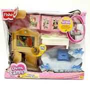 Fisher Price Loving Dollhouse Deluxe Family Room Sweet Sounds Tray 2003