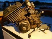 Yamaha 1979 Yz 250 F Air Cooled. Vintage Mx Motocross. Engine Complete Runner