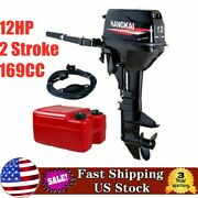Usa 2-stroke Outboard Motor Fishing Boat Engine Water-cooling Cdi Tiller Control