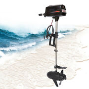 Usa 3hp 800w 24v Outboard Motor Brushless Fishing Engine Propeller Control