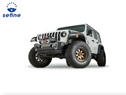 Warn Stubby Crawler Bumper Without Grille Guard Tube For Wrangler / Gladiator