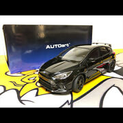 New 118 Scale Black Ford Focus Rs 2016 Diecast Model Car By Autoart Collection