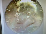 1968-d Kennedy Silver 50 Cents Icg Ms 67 Lists For 800