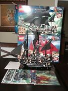 Lego Pirates Of The Caribbean 4195 Queen Anne's Revenge 4184 Black Pearl Used