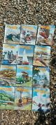 Meccano Magazines 1962 Full Year Reasonable Condition Lovely Classic Car Trains