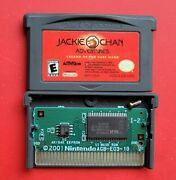 Jackie Chan Adventures Legend Of The Dark Game Boy Advance Kung Fu Authentic