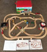 Learning Curve Thomas The Train Wooden Railway Deluxe Sodor Rescue Team Set