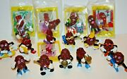 California Raisins Toys Collector Set Limited Edition X 4 Sealed 11 Different