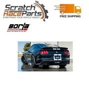 Borla 140684 Cat-back Exhaust Atak Fits 2015-2019 Mustang Shelby Gt350 5.2l