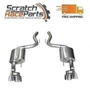 Corsa Axle-back Exhaust System Quad Rear Exit For 18-19 Mustang 304 Ss 21039