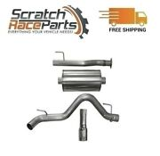Corsa Cat-back Exhaust System W/single Side Exit For 16-19 Tacoma 304 Ss 14917