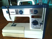 Vintage Brother Vx760 Sewing Machine With Accessories Snap Cover And Pedal