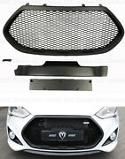 Mands Abs Grille [matte Black] For Hyundai Veloster Turbo 201317 Usa Stock
