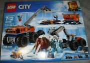 Lego City Artic Mobil Base 60195, W/6 Minifigures A Wooly Mammoth, Sealed Set