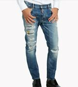 Dsquared2 Destroyed Jeans Nwt  Made In Italy