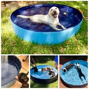 New Portable Dog Pool Pet Bath Summer Outdoor Swimming Pools For Dogs Cats Kids