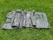 M151 M151a2 Jeep Vinyl Door Side Curtain And Top Matching Set G838
