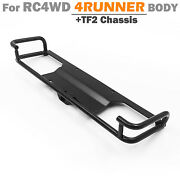 Stainless Steel Tube Rear Back Bumper Diy Part For Rc Car Rc4wd 4runner