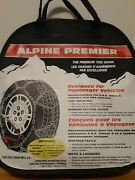 Alpine Premier Tire Chains Laclede Mfg. Quick Fit Diamond Chain Never Used 1547