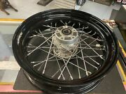 Black New T/ Rear Wheel Harley Dyna 1 2006-07 Superglide Fxd Wide Glide 4.50x17