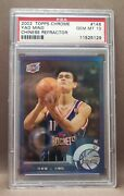 2002 Topps Chrome Chinese Refractor Yao Ming Rookie Rc 146 Psa 10 Gem Mint