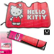Hello Kitty Official License Product Sunshade Car Truck Or Suv Front Windshield