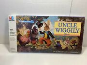 Vintage Uncle Wiggly Board Game By Milton Bradley 1988 New Sealed